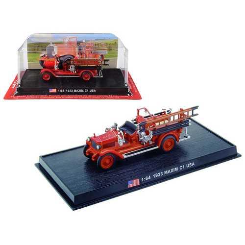 "1923 Maxim C1 Fire Engine ""Houston Fire Department"" (H.F.D.) Houston (Texas) 1/64 Diecast Model by Amercom"