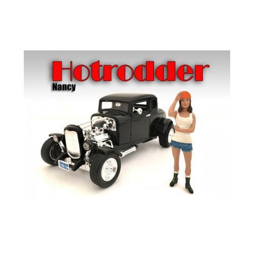 """Hotrodders"" Nancy Figure For 1:18 Scale Models by American Diorama"