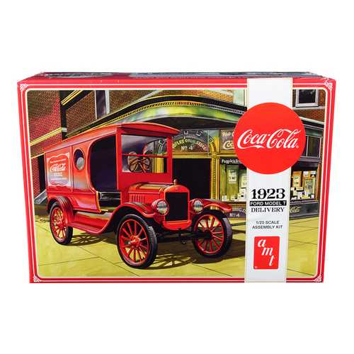 "Skill 3 Model Kit 1923 Ford Model T Delivery ""Coca-Cola"" 1/25 Scale Model by AMT"