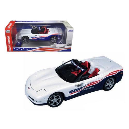 2004 Chevrolet Corvette Indy Pace Car 1/18 Diecast Model Car by Autoworld