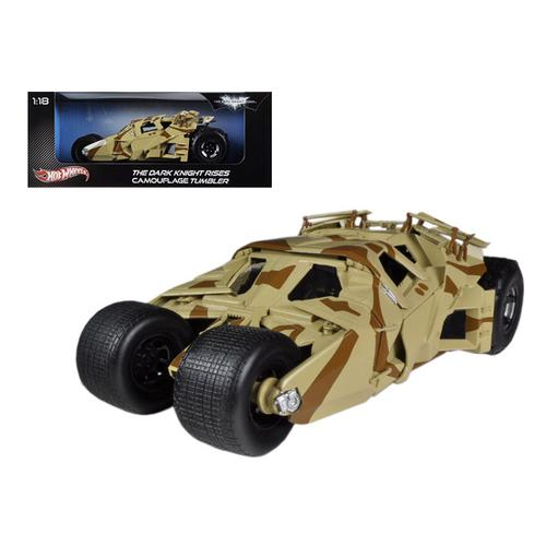 """The Dark Knight Rises"" Batmobile Tumbler Camouflage 1/18 Diecast Car Model by Hotwheels"