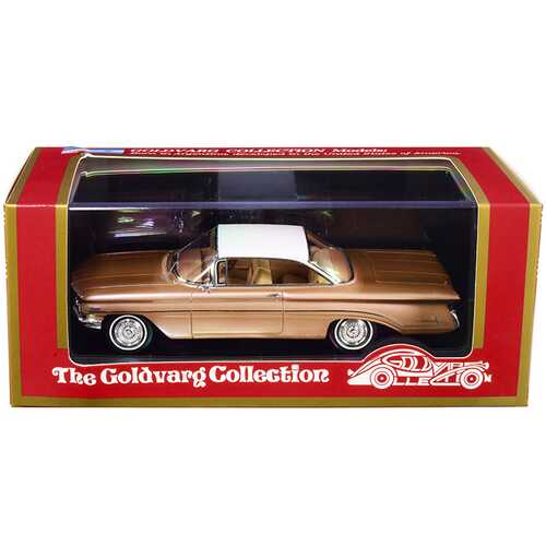 1960 Oldsmobile Copper Mist Metallic with White Top Limited Edition to 220 pieces Worldwide 1/43 Model Car by Goldvarg Collection