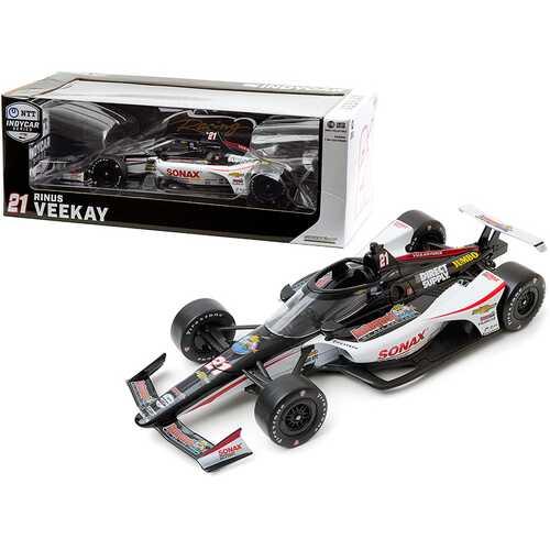 "Dallara IndyCar #21 Rinus VeeKay ""SONAX"" Ed Carpenter Racing ""NTT IndyCar Series"" (2020) 1/18 Diecast Model Car by Greenlight"