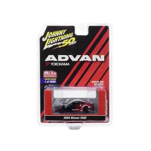 "2004 Nissan 350Z ADVAN Yokohama ""Johnny Lightning 50th Anniversary"" Limited Edition to 3600 pieces Worldwide 1/64 Diecast Model Car by Johnny Lightning"