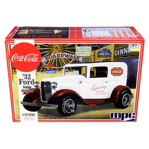 "Skill 3 Model Kit 1932 Ford Sedan Delivery ""Coca-Cola"" 1/25 Scale Model by MPC"