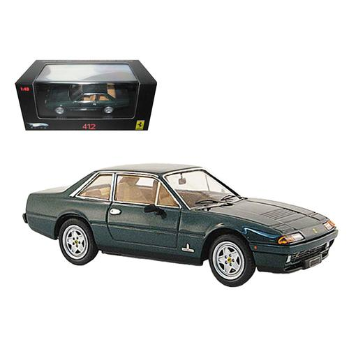 Ferrari 412 Green Limited Edition Elite 1/43 Diecast Model Car by Hotwheels