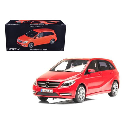 2011 Mercedes B180 Red 1/18 Diecast Car Model by Norev