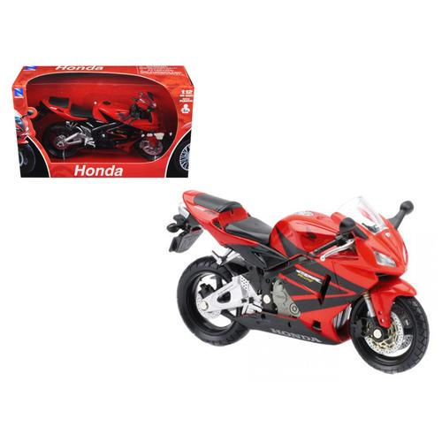 2006 Honda CBR600R Red Motorcycle 1/12 Diecast Model by New Ray