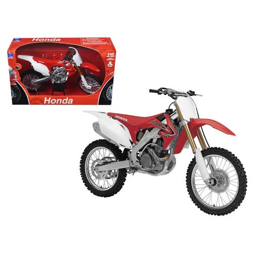 2012 Honda CR 250R Red 1/12 Diecast Motorcycle Model by New Ray