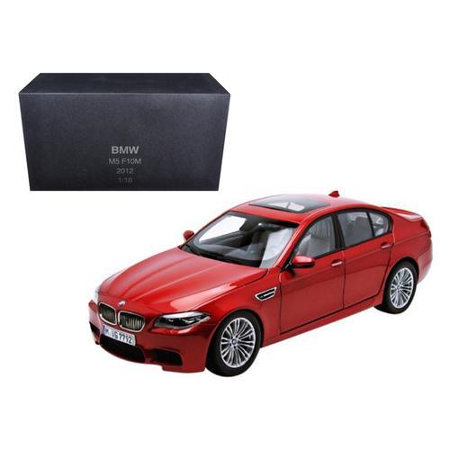2012 BMW M5 (F10M) Sakhir Orange 1/18 Diecast Model Car by Paragon Models