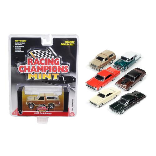 Mint Release 2 Set A Set of 6 cars 1/64 Diecast Model Cars by Racing Champions