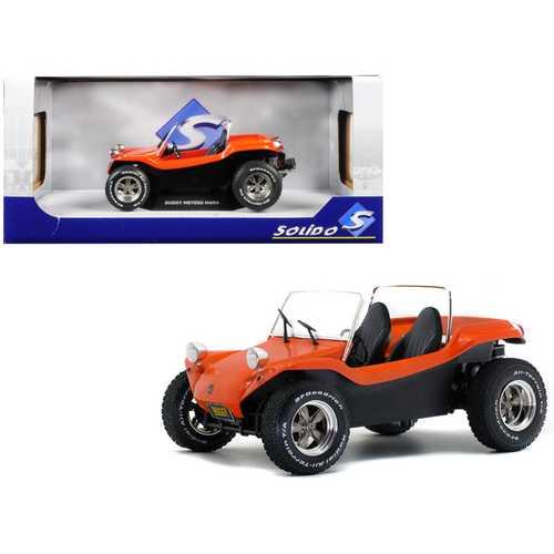 Meyers Manx Buggy Convertible Metallic Orange 1/18 Diecast Model Car by Solido