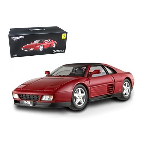 Ferrari 348 TS Elite Edition Red 1/18 Limited Edition by Hotwheels