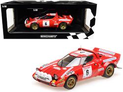 Lancia Stratos #6 Bernard Darniche - Alain Mahe Winners Tour de Corse (1975) Limited Edition to 402 pieces Worldwide 1/18 Diecast Model Car by Minichamps