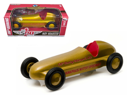 "Vintage Indy Roadster 100th Running of the Indianapolis 500 Special Gold Edition ""Hobby Exclusive"" 1/24 Diecast Model Car by Greenlight"