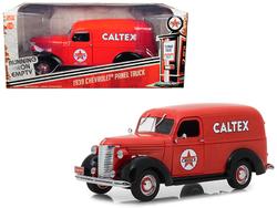 "1939 Chevrolet Panel Truck ""Caltex"" Red Running on Empty Series 1/24 Diecast Model Car by Greenlight"