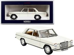 1968 Mercedes Benz 200 White 1/18 Diecast Model Car by Norev