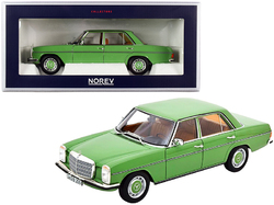 1973 Mercedes Benz 200 Light Green 1/18 Diecast Model Car by Norev
