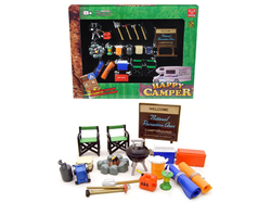 """""""Happy Camper"""" Accessories Set for 1/24 Scale Models by Phoenix Toys"""