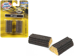 Log Loads 2 piece Accessory Set 1/87 (HO) Scale by Classic Metal Works