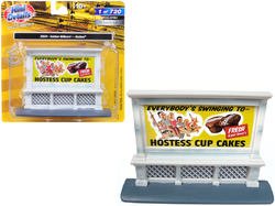 """Outdoor Billboard """"Hostess"""" for 1/87 (HO) Scale Models by Classic Metal Works"""