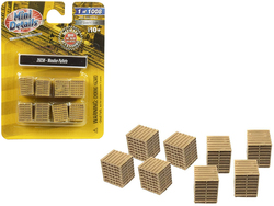 Wooden Pallets 8 piece Accessory Set 1/87 (HO) Scale by Classic Metal Works