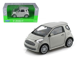 Aston Martin Cygnet Silver 1/24 Diecast Model Car by Welly