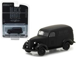 1939 Chevrolet Panel Van Black Bandit 1/64 Diecast Model Car by Greenlight