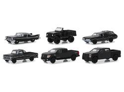 """Black Bandit"" 6 piece Set Series 21 1/64 Diecast Model Cars by Greenlight"