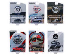 """""""Anniversary Collection"""" 6 piece Set Series 10 1/64 Diecast Model Cars by Greenlight"""