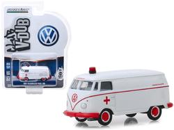 "1964 Volkswagen Panel Van Ambulance White ""Club Vee V-Dub"" Series 9 1/64 Diecast Model Car by Greenlight"