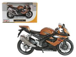 Suzuki GSX R1000 Bronze 1/12 Diecast Motorcycle Model by Maisto