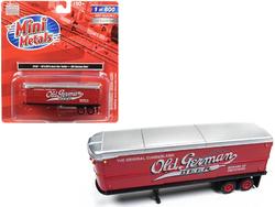 """1940's-1950's Aerovan Trailer """"Old German Beer"""" 1/87 (HO) Scale Model by Classic Metal Works"""