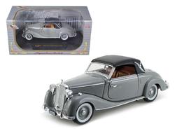 1950 Mercedes 170s Soft Top Gray 1/32 Diecast Model Car by Signature Models