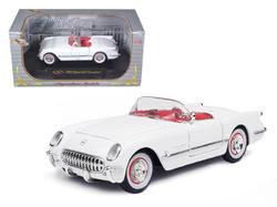 1953 Chevrolet Corvette White 1/32 Diecast Model Car by Signature Models