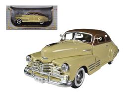 1948 Chevrolet Fleetline Aerosedan Beige 1/32 Diecast Car Model by Signature Models