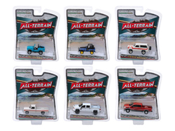 """""""All Terrain"""" Set of 6 pieces Series 8 1/64 Diecast Model Cars by Greenlight"""