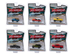 """""""All Terrain"""" Set of 6 pieces Series 9 1/64 Diecast Model Cars by Greenlight"""