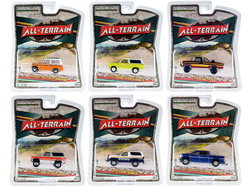 """""""All Terrain"""" Set of 6 pieces Series 10 1/64 Diecast Model Cars by Greenlight"""