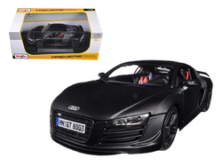 Audi R8 GT Matt Black 1/18 Diecast Model Car by Maisto