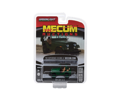 1974 Jeep CJ-5 Green (Dallas 2017) Mecum Auctions Collector Series 2 1/64 Diecast Model Car by Greenlight