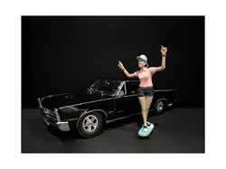 Skateboarder Figurine IV for 1/18 Scale Models by American Diorama