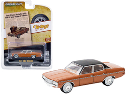 "1973 AMC Matador Brown Metallic with Black Top ""Test Drive a Matador with Five of Your Biggest Friends"" ""Vintage Ad Cars"" Series 3 1/64 Diecast Model Car by Greenlight"