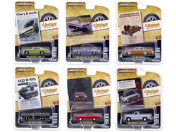 """Vintage Ad Cars"" Set of 6 pieces Series 3 1/64 Diecast Model Cars by Greenlight"