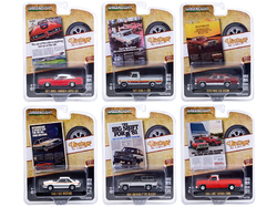 """Vintage Ad Cars"" Set of 6 pieces Series 4 1/64 Diecast Model Cars by Greenlight"