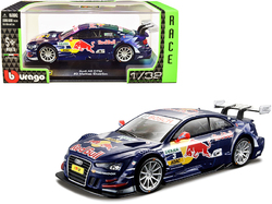 "Audi A5 DTM #3 Mattias Ekstrom ""Red Bull Racing"" ""Race Car"" Series 1/32 Diecast Model Car by Bburago"
