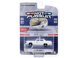 "1974 AMC Matador ""Dallas Police"" (Texas) White ""Hot Pursuit"" Series 35 1/64 Diecast Model Car by Greenlight"