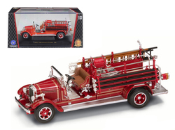 1932 Buffalo Type 50 Fire Engine Red 1/43 Diecast Model by Road Signature