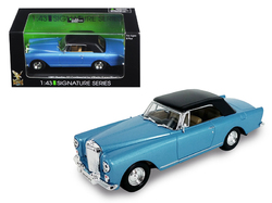 1961 Bentley Continental S2 Park Ward Blue 1/43 Diecast Model Car by Road Signature