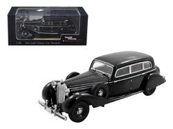 1938 Mercedes 770K Sedan Black 1/43 Diecast Car Model by Signature Models